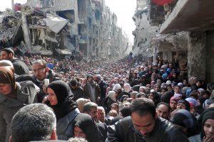 Refugees Damascus