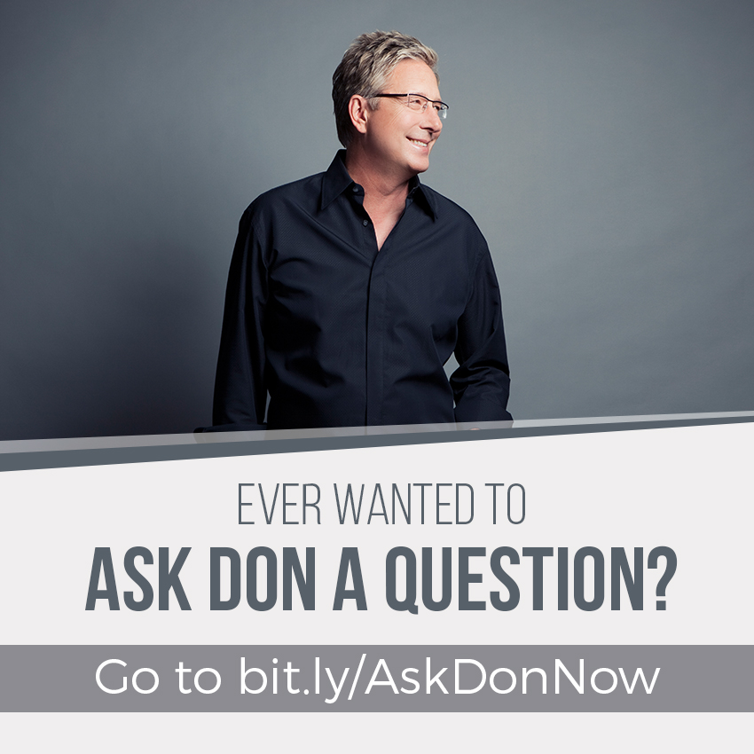 Ask Don A Question!